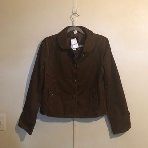 j crew brown corduroy jacket